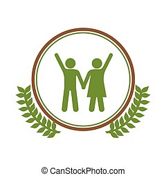 symbol people care environment image