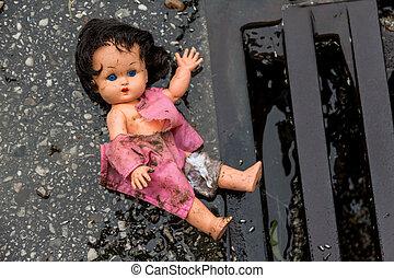 symbol photo maltreatment of children - abuse of children as...
