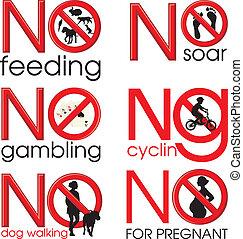 Symbol Prohibitions