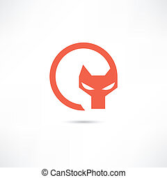 symbol, räv