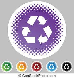 symbol, recycling