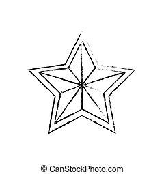 symbol, stern, auszeichnung