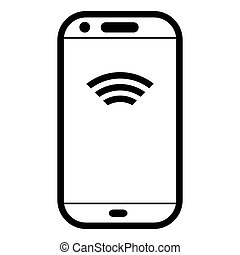 symbol, telefon, komunikacja