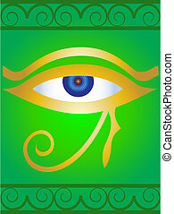 Symbol the Egyptian eye