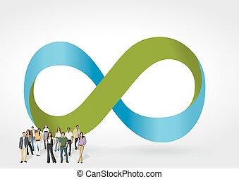 symbol, uendelighed, folk branche