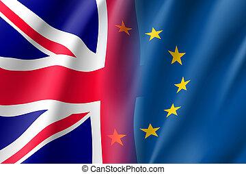 Symbol United Kingdom is EU member.