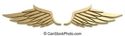 symbol, vinge