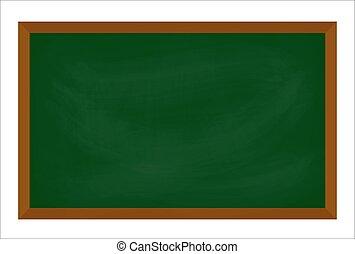 symbol, wektor, chalkboard, design., odizolowany, ikona, białe tło, ilustracja, piękny