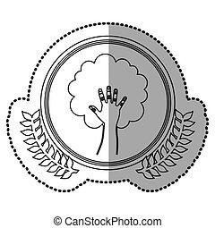 symbol world ecology care image