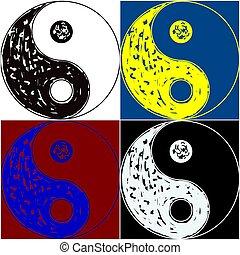 Symbol,  yin,  yang