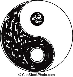symbol, yin yang
