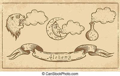 symbole, alchemical