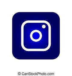 symbole, appareil photo, icône
