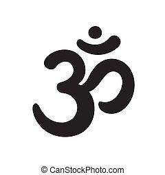 symbole, aum, dessin