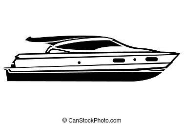 symbole, bateau