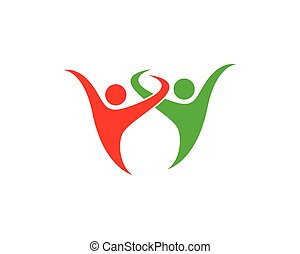 symbole, communauté, illustration