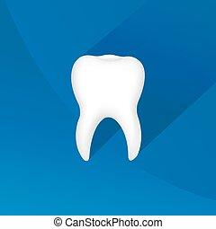symbole, dent