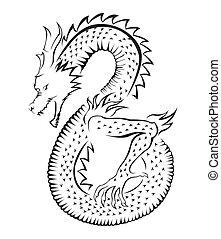 symbole, dragon