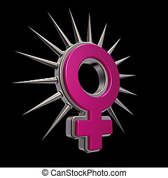 symbole, femme
