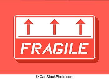 symbole, fragile