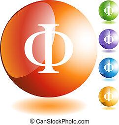 symbole grec, fraternité, icône