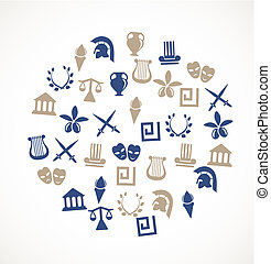 symbole, griechenland