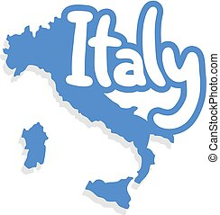 symbole, italie, gentil