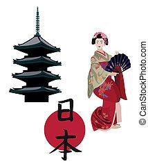 symbole, japanisches