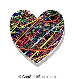 symbole, love-heart