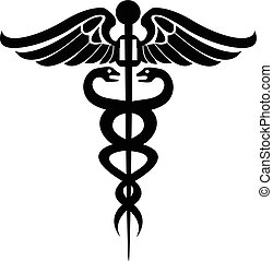 symbole médical, caducée