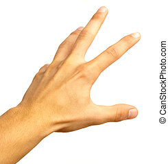 symbole, main