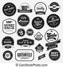 symbole, majchry, komplet, sprzedaż