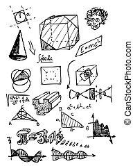 symbole, mathe
