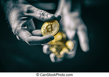 symbole monétaire, crypto
