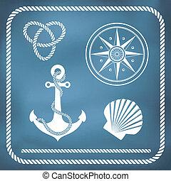 symbole, nautisch