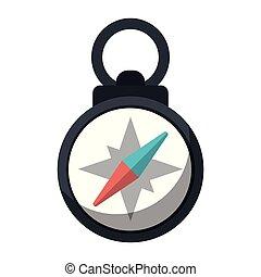 symbole, navigation, compas