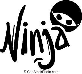 symbole, ninja