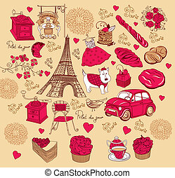 symbole, paris, satz