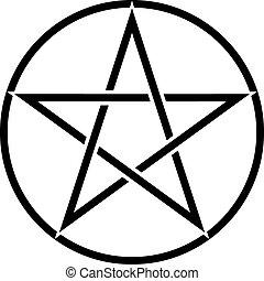 symbole, pentagram