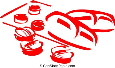 symbole, pilules