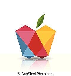 symbole, pomme