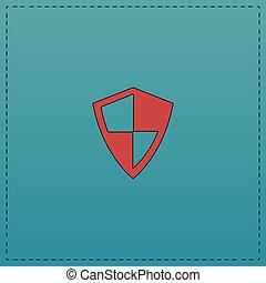 symbole, protection, informatique