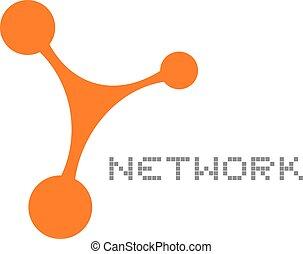 symbole, réseau
