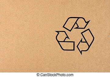 symbole, recyclage