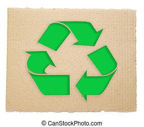 symbole recyclant