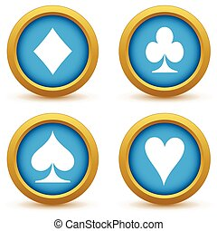 symbole, satz, karte, ikone