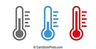 symbole, température, ensemble