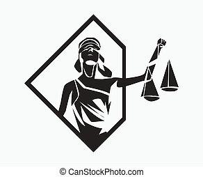 symbole, themis
