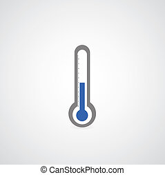 symbole, thermomètre