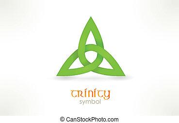 symbole, trinité, triqueta